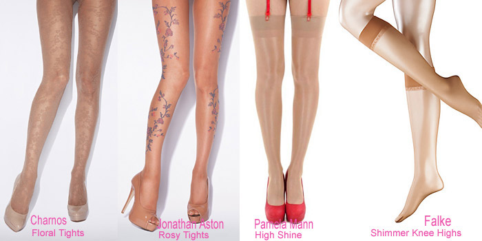 Nude Stockings, Tights and Socks for Summer