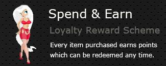 Earn Loyalty Points on all Hosiery & Lingerie Purchases