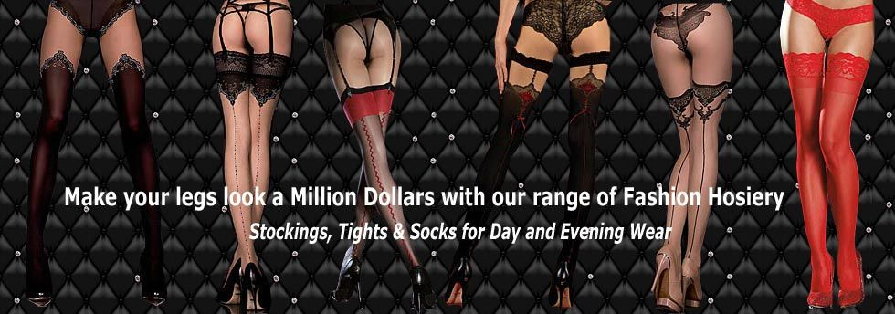 Stockings, Tights and Socks for Day and Evening Wear